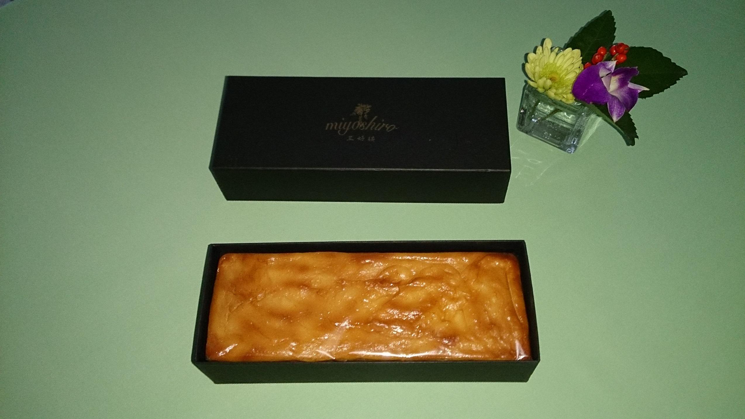 チーズケーキ箱